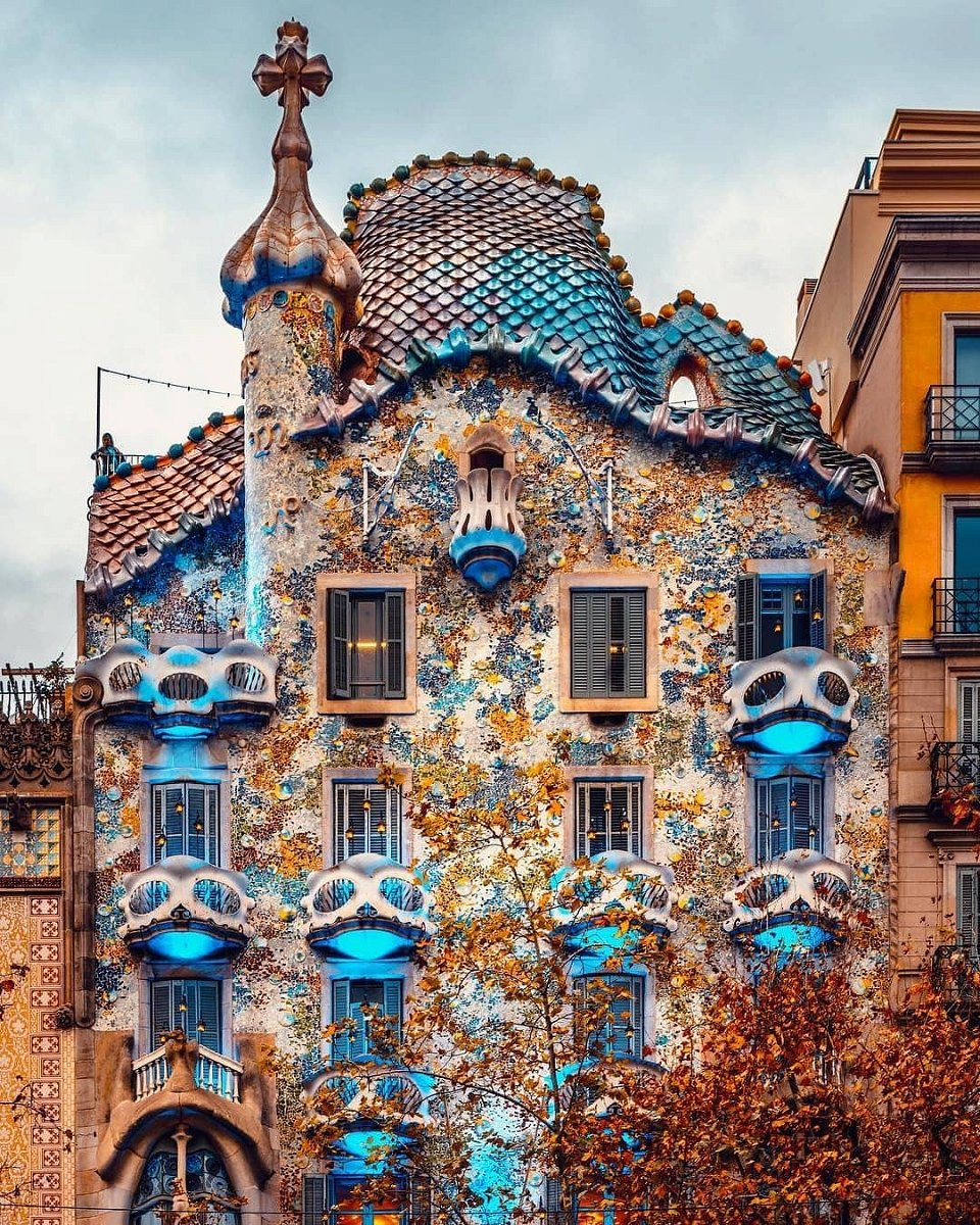 beautiful picture of Casa Batlló