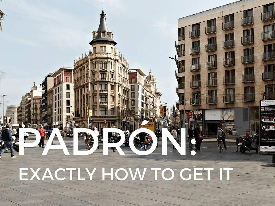 Padrón: exactly how to get it